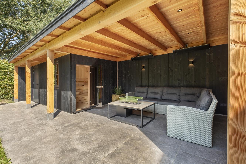 Welson Finse sauna in een buitenverblijf
