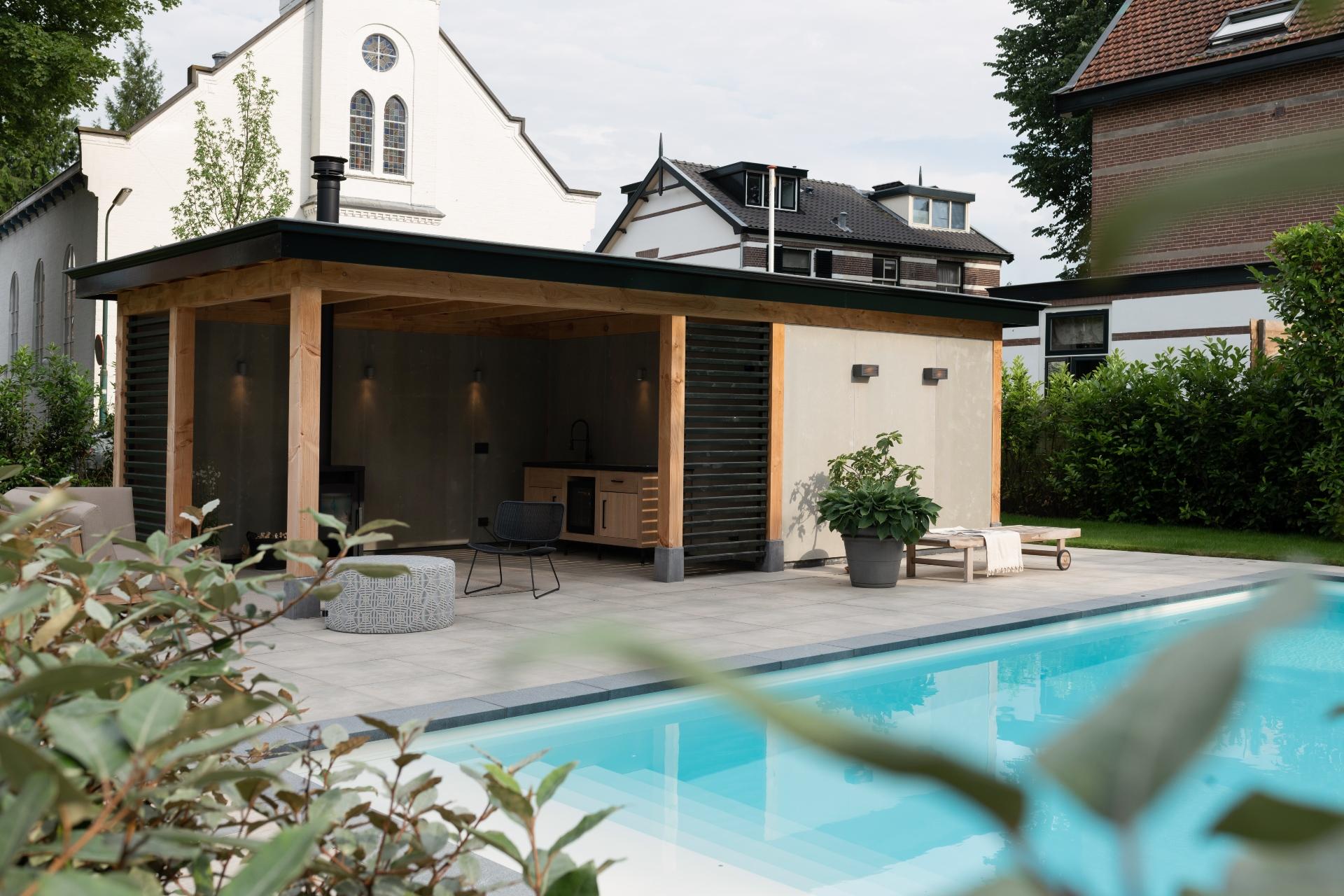Poolhouse met Starline inbouwzwembad