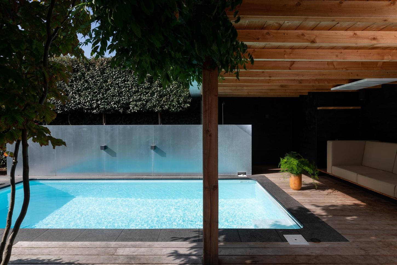 Inbouw zwembad in de tuin