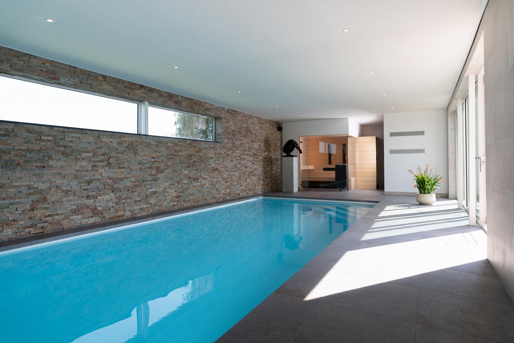Maatwerk Welson zwembad en sauna