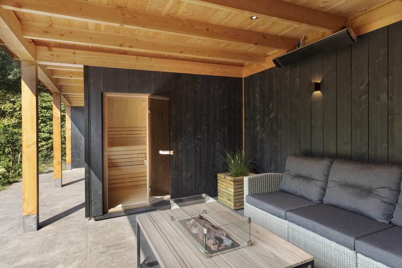 Welson Finse sauna in een Bronkhorst buitenverblijf